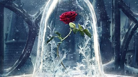 Disney's 'beauty And The Beast' Poster Features Iconic