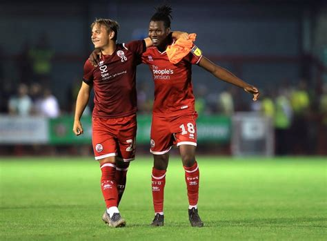 David Sesay a doubt as Crawley take on Scunthorpe | NewsChain