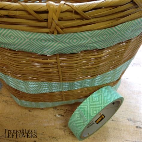 how to paint a basket