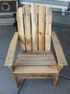 how to build an adirondack chair out of a pallet woodworking projects plans