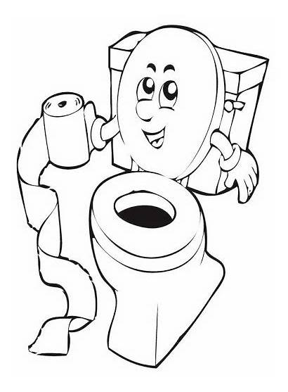 Potty Coloring Toilet Training Pages Getcolorings Printable