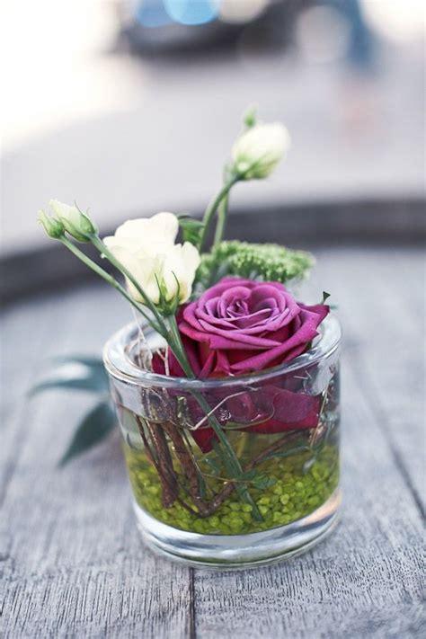 Blumen Tischdeko Im Glas by Tischdeko Hochzeit Lila Deko Im Glas