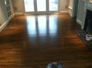 walnut stain with semi gloss polyurethane gandswoodfloors com wood floor stain