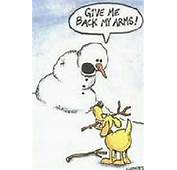 Funny Snow Cartoons And Pictures
