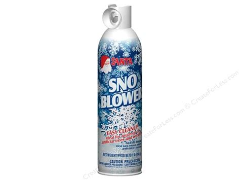 chase santa snow blower spray 16 oz createforless