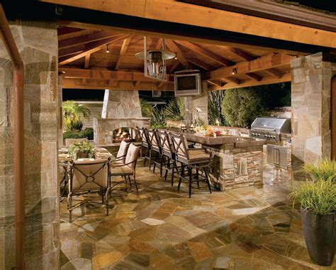 backyard entertainment outdoor kitchens living spaces