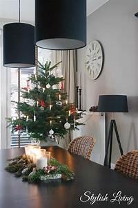Weihnachtsbaum Rot Weiß : weihnachtsbaum in rot wei stylish living ~ Yasmunasinghe.com Haus und Dekorationen