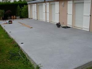 Dalles Beton Terrasse : terrasse dalle beton ~ Melissatoandfro.com Idées de Décoration