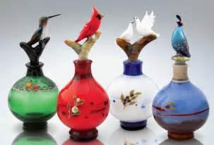 bird perfume bottles by chris pantos glass perfume bottles artful home