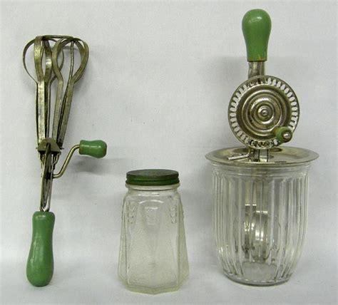 Green Handled Kitchen Tools On Pinterest  Vintage Kitchen