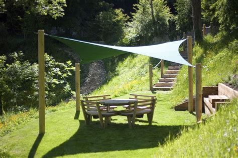4m ripple tensile solutions fabric shade sail