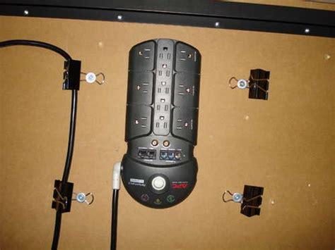 mount power strip under desk 69 best cable organizer diy images on pinterest cable