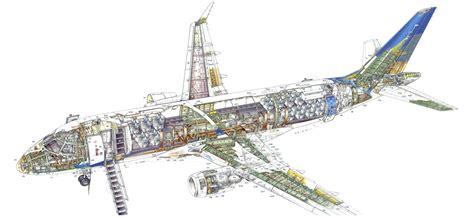 embraer  cutaway drawing  high quality