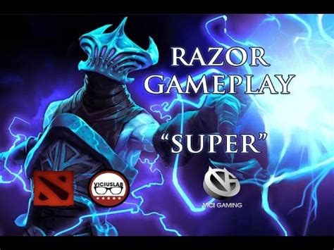 dota 2 gameplay comentado razor quot de vigi gaming quot espa 209 ol viciuslab youtube