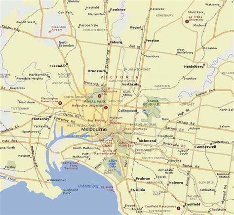 maps  melbourne