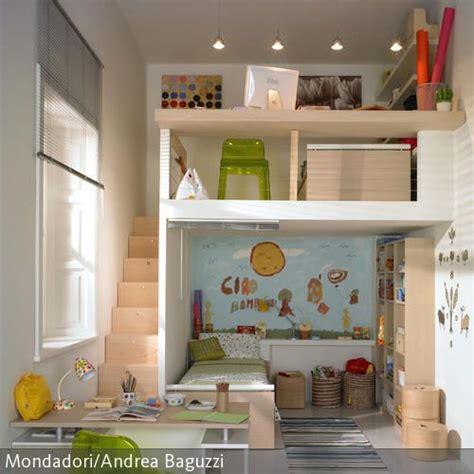 Kinderzimmer Gestalten Hochbett by Zwei Ebenen Im Kinderzimmer Romy