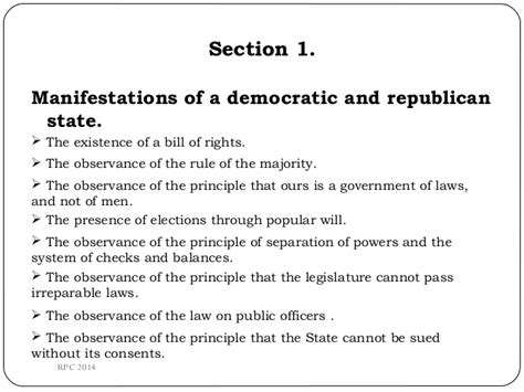 Constitution Article 1 And 2 ( Section 1-6
