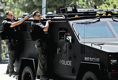 Oceanside May Buy Armored Assault Vehicle In Case Of