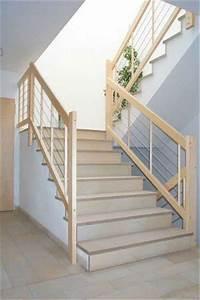Holzstufen Auf Beton : treppengel nder an betontreppe holzstufen auf beton ~ Michelbontemps.com Haus und Dekorationen