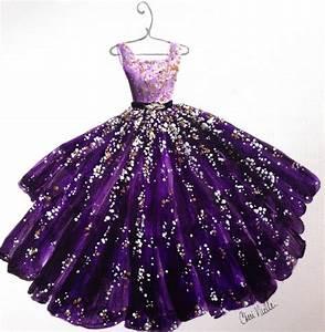 Fashion Illustration Evening Gown Fashion Sketch от ...