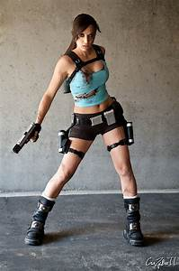Lara Croft 1 by illyne on DeviantArt