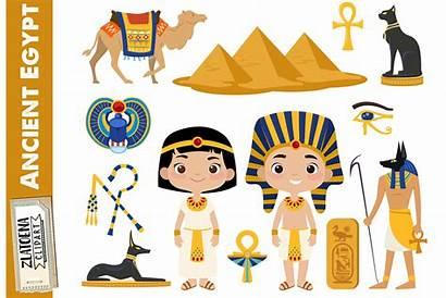 Egypt Clipart Ancient Clip Travel Egyptian Pharaoh