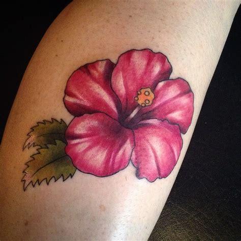 Tatouage Fleur Hibiscus
