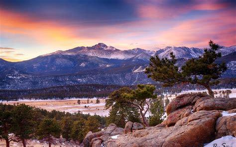 rocky, Mountain, National, Park, Winter, Colorado ...