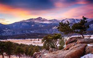 Rocky, Mountain, National, Park, Winter, Colorado, Mountain, Forest, Wallpapers, Hd, Desktop, And