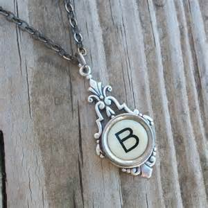 Typewriter Key Letter B