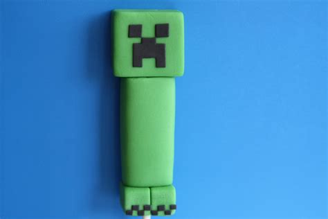 minecraft creeper cake topper rebecca cakes bakes