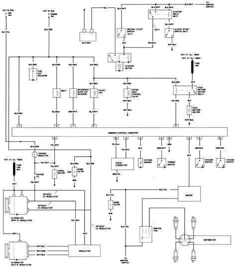 1997 Toyotum Camry Alternator Wiring Diagram by Repair Guides Wiring Diagrams Wiring Diagrams