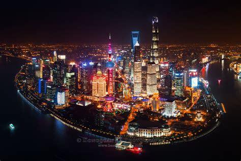 Shanghai Night, China - Songquan Photography