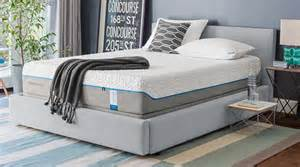 tempur cloud supreme king mattress flat set mattress barn