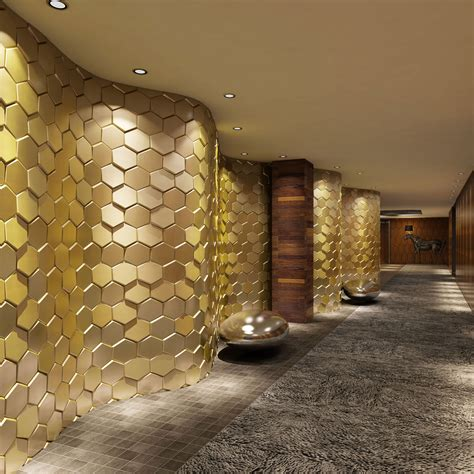 3d faux leather tiles