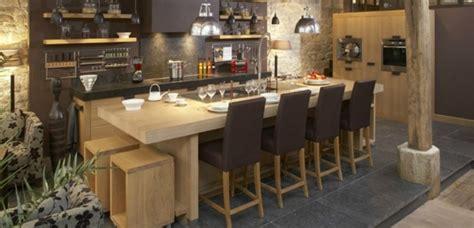 cuisine massif cuisine en bois massif moderne maison moderne