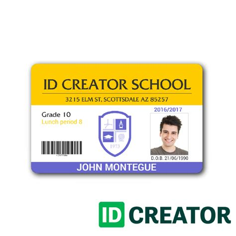 how to make id card template in word employee id card template microsoft word cards design