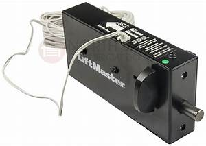 Liftmaster 841lm automatic power residential garage door for Automatic door lock for home