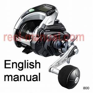 Shimano 2015 Forcemaster 800 Download Original User Manual