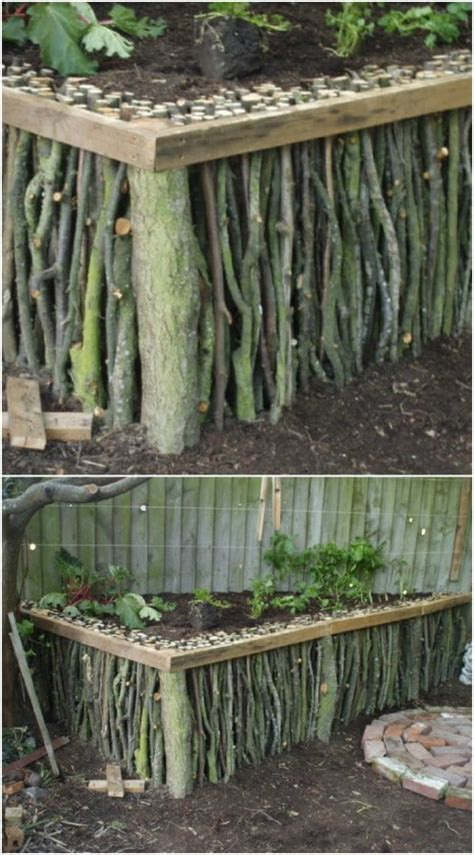 diy home  garden projects  sticks  twigs