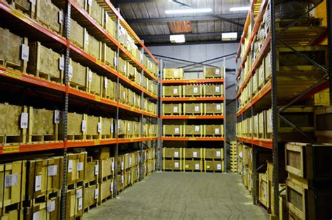 heavy duty static push back in pallet racking industrial warehouse storage