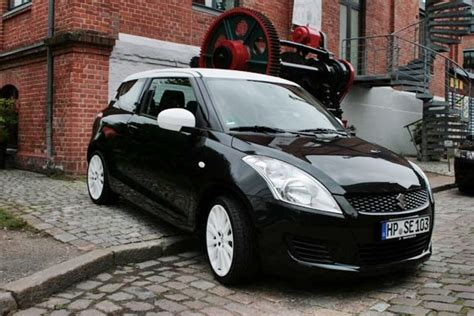 Suzuki Launches Swift Black-white Special Edition In Germany