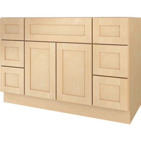 bathroom base cabinets with drawers bathroom vanity drawer base cabinet natural maple shaker