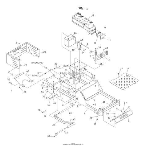 Sear 26 Kohler Engine Electrical Diagram by Dixon Kodiak 52 20hp Kohler 968999622 2008 Parts