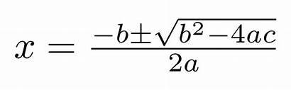 Quadratic Formula Derive Equation 4ac