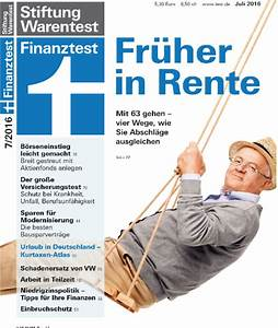 Wie Kann Ich Meine Rente Berechnen : vier strategien von finanztest wie gehe ich ohne viele einbu en fr her in rente ratgeber ~ Themetempest.com Abrechnung