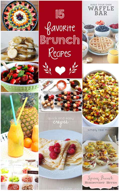 favorite brunch recipes 15 of our favorite brunch recipes the crafting chicks