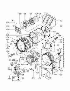 Lg Wm3875hvca Washer Pump Motor Genuine Oem