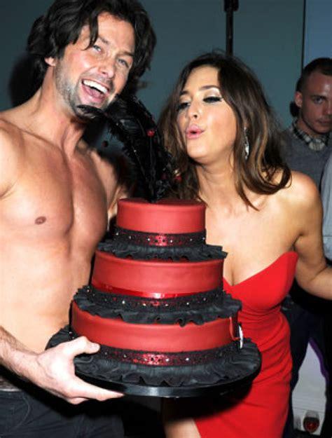 Celebrity Birthday Cakes  Lisa Snowdon's Birthday Cake