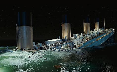 Titanic Movie Boat Sinking Scene by Source Holidaydestinatiosn4all Real